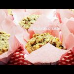 Muffins de chocolate con nueces