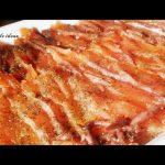 Salmon marinado