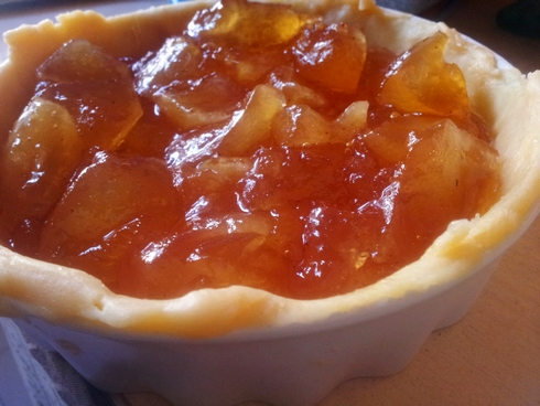 Tarta compota de manzana