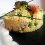 Cous-cous al curry con brocoli