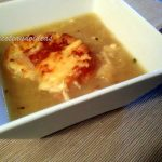 Sopa de cebolla Julia Child- Onion soup