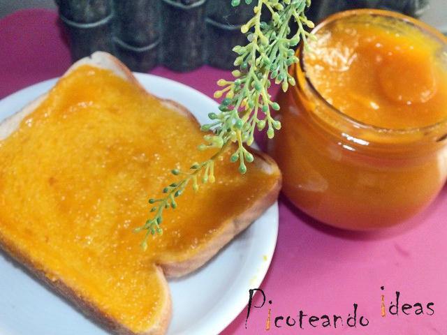 Mermelada de naranja con zanahoria, mermelada casera