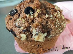 muffins, casero