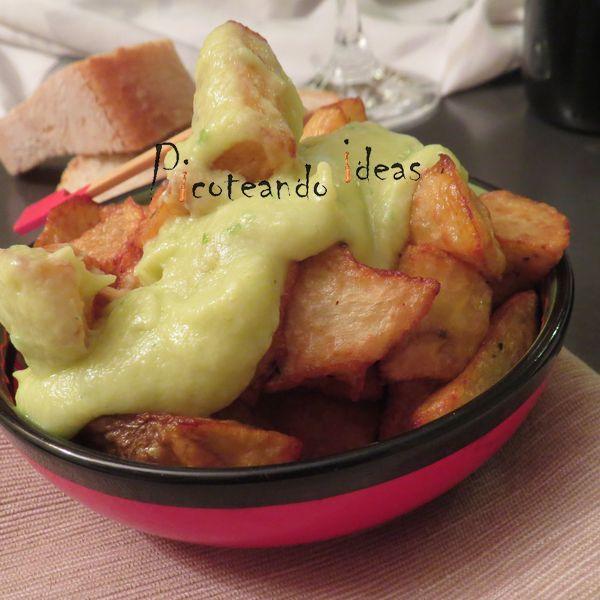 patatas con ali oli de coliflor