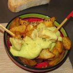 Patatas con alioli de coliflor