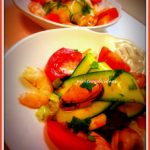 Ensalada de mejillones y calabacín
