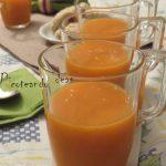 Smoothie de mango y zanahoria
