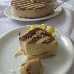 Tarta cuajada de horchata