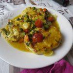 Merluza en salsa de curry