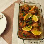 Juego de bloguer@s 2.0: Jamoncitos al horno en salsa de mandarinas