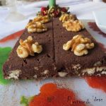 Turron de chocolate con nueces