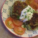 Hamburguesa de brocoli-Juego de blogueros