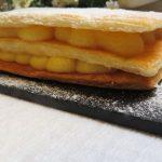 Juego de bloguer@s 2.0: Milhojas de hojaldre con crema de melon