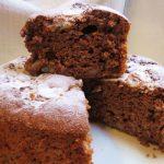 Cake de platano y avena