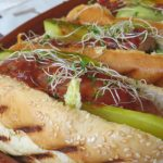 Hot dog chorizo criollo