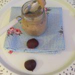 Crema dulce de castañas – Juego de Blogueros