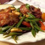 Pollo tandoori con almendras