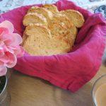 Pan de molde con avena
