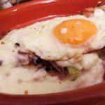 Setas al plato con bechamel-Juego de blogueros2.0
