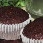 Muffins de banana con chocolate